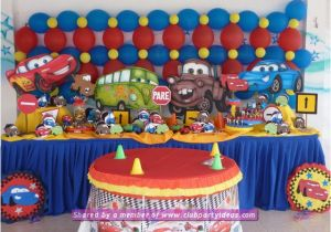 Decoration Ideas Lightning Mcqueen Birthday Party Cars Lightning Mcqueen Decoration Ideas for Birthday Party