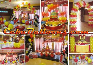 Decoration Ideas Lightning Mcqueen Birthday Party Hannah 39 S Party Place Balloon Decoration Party Needs