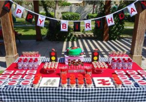 Decoration Ideas Lightning Mcqueen Birthday Party Kara 39 S Party Ideas Lightning Mcqueen Race Car Party Ideas
