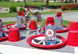 Decoration Ideas Lightning Mcqueen Birthday Party Lightning Mcqueen Race Car Party Ideas Planning Idea Cake