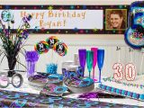 Decorations for 30th Birthday Party Ideas the Party Continues 30th Birthday Party Supplies Party City