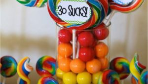 Decorations for A 30th Birthday Party 30th Birthday theme 30 Sucks Party Ideas