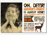 Deer Hunting Birthday Invitations Deer Hunting Birthday Invitation Camo by Puggyprints On Etsy