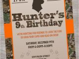 Deer Hunting Birthday Invitations Hunting Deer Camo Birthday Baby Shower Party Invitation