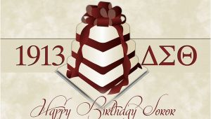 Delta Sigma theta Birthday Cards Delta Sigma theta Greeting Cards by Lateisha Larkins Via