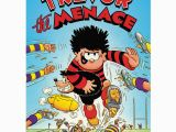 Dennis the Menace Birthday Card Beano Gifts Presents Ideas Gift Finder Seek Gifts