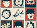 Dennis the Menace Birthday Card Beano Greeting Cards Greeting Cards Postcards Gift