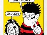 Dennis the Menace Birthday Card Have A Menacing Birthday Dennis the Menace Birthday Card
