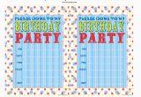 Design Your Own Birthday Invitations Free Printable Create Your Own Birthday Party Invitations Free Lijicinu