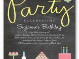 Designer Birthday Invitations 21 Teen Birthday Invitations Inspire Design Cards