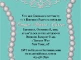Designer Birthday Invitations Sparkling Diamond Designer Inspired Birthday Invitaton