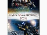 Destiny Game Birthday Card 229 Destiny Game Personalised Greeting Large A5 Card Best