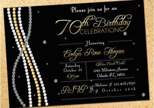 Diamonds and Pearls Birthday Invitations Diamonds Pearls Birthday Party Invitation by Owenandsally