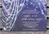 Diamonds and Pearls Birthday Invitations Wedding Invitation Diamonds and Pearls
