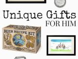 Different Birthday Gifts for Him Unique Gifts for Him Typically Simple