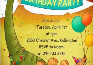Dinosaur Birthday Invitation Wording 17 Invitations How To Sample Templates