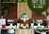 Dinosaur Decorations for Birthday Party Boy Bash Dinosaur Birthday Party On A Budget