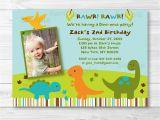 Dinosaur First Birthday Invitations Dinosaur Birthday Invitation Boy Dinosaur 1st Birthday
