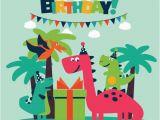 Dinosaur Happy Birthday Banner Svg Best Diplodocus Illustrations Royalty Free Vector