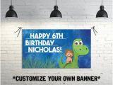 Dinosaur Happy Birthday Banner Svg Dinosaur Banner Etsy