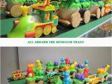 Dinosaur Train Birthday Decorations Dinosaur Train Cupcake Train My Good Friend Kristin Made