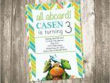 Dinosaur Train Birthday Invitations Free Dinosaur Train Birthday Party Invitation by Custompartydecor
