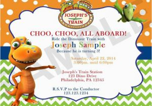 Dinosaur Train Birthday Invitations Free Printable Invitation Orderecigsjuice Info