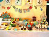 Dinosaurs Birthday Decorations Dinosaur themed Birthday Party the Baking Way