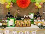 Dinosaurs Birthday Decorations Kara 39 S Party Ideas Dino Mite Jurassic Dinosaur Birthday