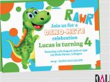 Dinosaurs Birthday Invitations Printable 15 Dinosaur Birthday Invitations Free Psd Vector Eps