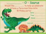Dinosaurs Birthday Invitations Printable Boys Dinosaur theme Birthday Party Invitations Kids