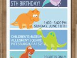 Dinosaurs Birthday Invitations Printable Items Similar to Printable Dinosaur Birthday Invitation