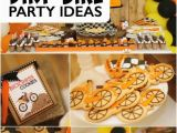 Dirt Bike Birthday Decorations Bike themed Birthday Party Spaceships and Laser Beams