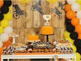 Dirt Bike Birthday Decorations Got Dirt A Boy 39 S Dirt Bike Birthday Party Spaceships