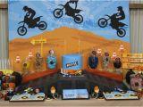 Dirt Bike Birthday Decorations Kara 39 S Party Ideas Dirt Bike Birthday Party Planning Ideas