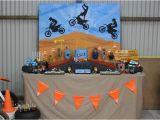 Dirt Bike Birthday Decorations Kara 39 S Party Ideas Dirt Bike themed Birthday Party with