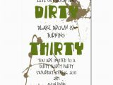 Dirty Birthday Cards for Guys 30th Birthday Party the Dirty 30 B Lovely events