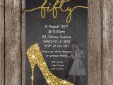Dirty Dancing Birthday Card Dirty Dancing Invitation Black Gold Invitation High Heel