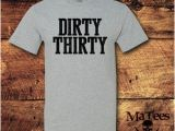 Dirty Thirty Birthday Gifts for Him 30th Birthday Gift for Him Etsy