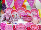 Discount Birthday Decorations 2015 wholesale Kids Birthday theme Party Supplies