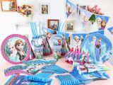 Discount Birthday Decorations Aliexpress Com Buy 126pcs Lot wholesale Elsa Anna theme