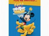Disney Birthday Cards Online Disney Birthday Party Card Zazzle