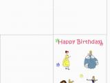 Disney Birthday Cards Online Free Free Birthday Cards Printable