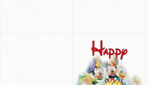 Disney Birthday Cards Online Free Free Printable Disney Birthday Cards Free Clipart