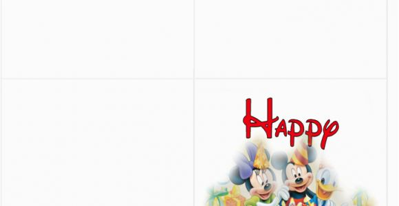 Disney Birthday Cards Online Free Printable Clipart