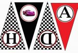 Disney Cars Happy Birthday Banner Items Similar to Disney Cars Happy Birthday Banner