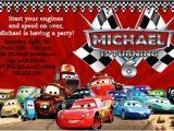 Disney Cars Personalized Birthday Invitations Disney Cars Birthday Invitations Ideas Bagvania Free
