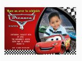 Disney Cars Personalized Birthday Invitations Disney Cars Birthday Invitations