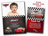 Disney Cars Personalized Birthday Invitations Disney Cars Invitation Cars Birthday Invitation Disney