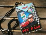 Disney Cars Personalized Birthday Invitations Items Similar to Custom Personalized Pixar Cars Birthday
